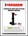 Yardarm Hydraulic Boat Jack Manual