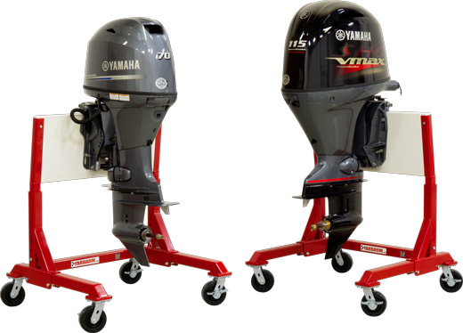 Yardarm marine products metal fabrication specialists for Large outboard motor stand